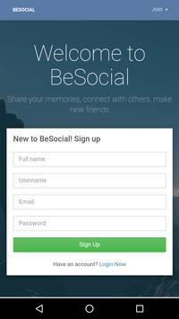 BeSocial - Beawar Social Network apk screenshot
