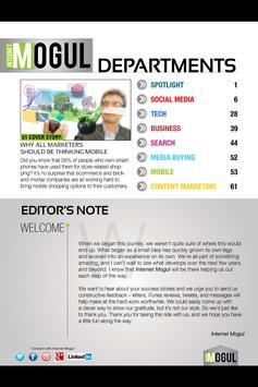 Internet Mogul Magazine screenshot 2