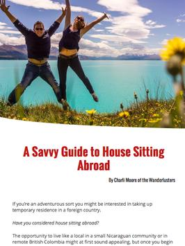 House Sitting World Magazine apk screenshot