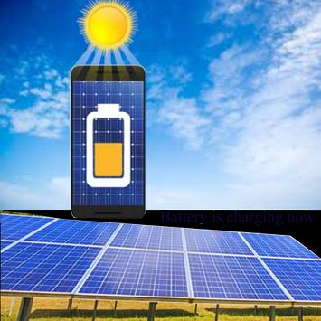 Solar Battery Charger poster
