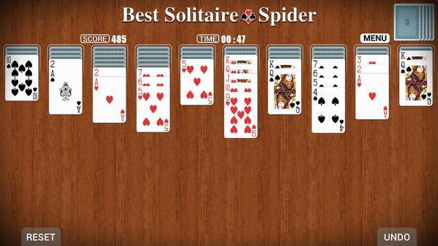Best Solitaire ● Spider screenshot 1