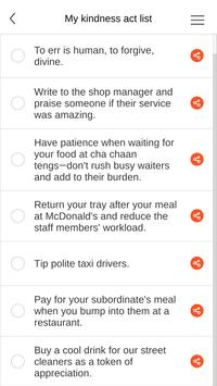 App of Kindness apk screenshot