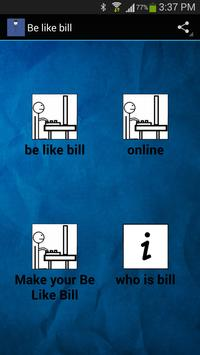 Let's be like bill poster