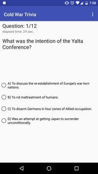 Cold War Trivia apk screenshot