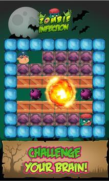 Infection Of Zombie: Block World Flip Challenge screenshot 1