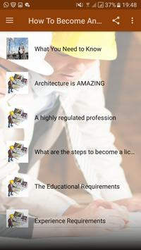 how to become an architect screenshot 1