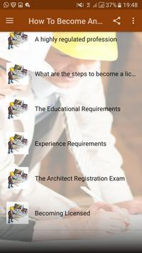 how to become an architect screenshot 2