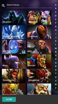 Hero Drafting for Dota 2 - BTG apk screenshot