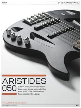 Bass Players United Magazine poster