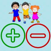 Adição Subtração para Crianças icon
