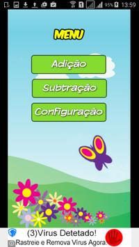Adição Subtração para Crianças screenshot 1