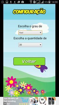 Adição Subtração para Crianças screenshot 4