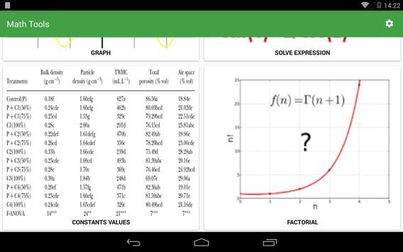 Numbers - Math tools screenshot 13