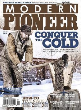 Modern Pioneer Magazine poster