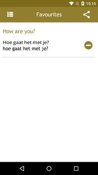Dutch Phrasebook apk screenshot