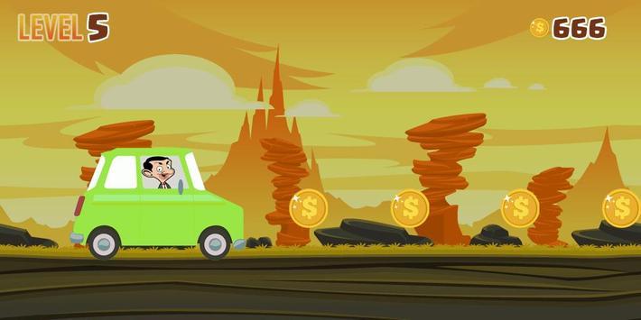Adventure bean Car apk screenshot