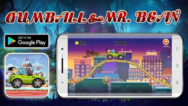 Crazy Adventures With Gumbаll and Mr Beаn apk screenshot