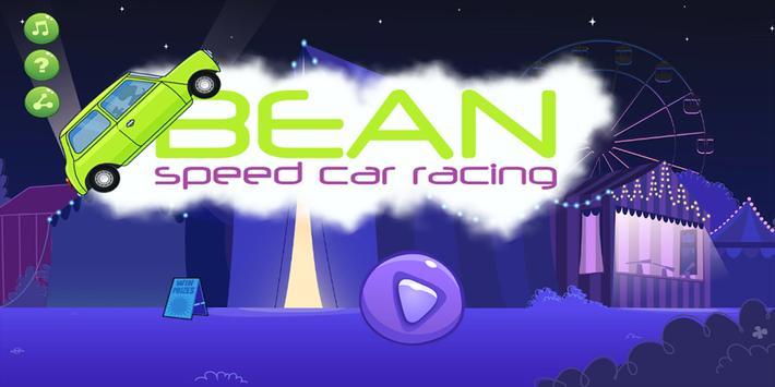 Bean Speed Crar Racing poster
