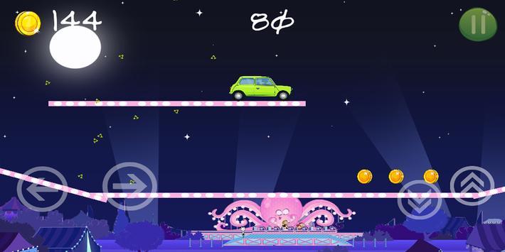 Bean Speed Crar Racing apk screenshot