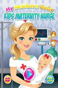 Newborn Baby Maternity Nurse - Mom & Baby Games! poster