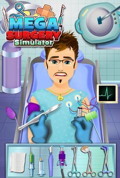 Mega Surgery Simulator Doctor - Pro Surgery Games apk screenshot