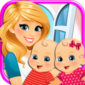 My Newborn Twins Baby & Mommy icon