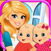 Icona My Newborn Twins Baby & Mommy