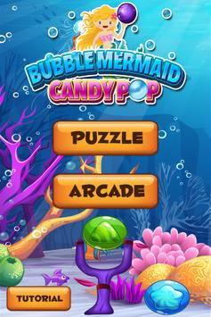 Mermaid Bubble Candy Pop FREE poster