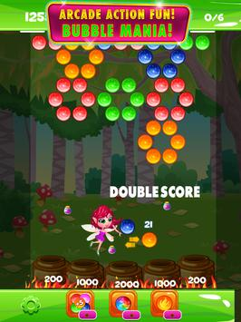 Bubble Fairy Forest Pop Arcade poster