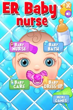 Baby ER Nurse: Infant Care & Doctor Games FREE poster