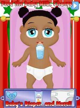 Baby Nurse Christmas Kids Care apk screenshot