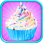 Cupcake Yum! Make & Bake Dessert Maker Games FREE icon