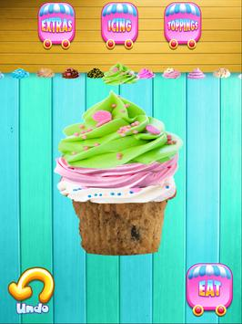 Cupcake Yum! Make & Bake Dessert Maker Games FREE apk screenshot