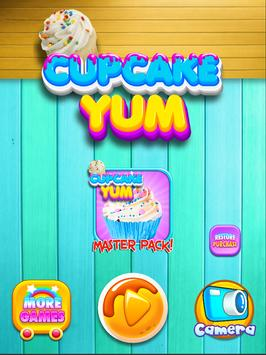 Cupcake Yum! Make & Bake Dessert Maker Games FREE poster