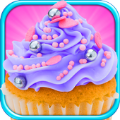 Cupcakes Shop: Bake & Eat FREE icon