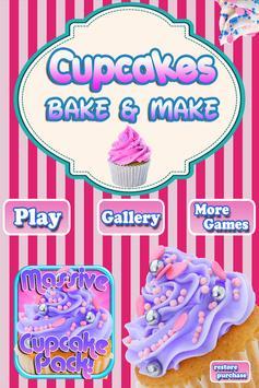 Cupcakes Shop: Bake & Eat FREE poster