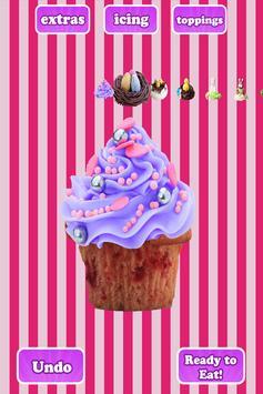 Cupcakes Shop: Bake & Eat FREE apk screenshot