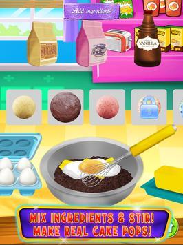 Cake Pop Maker - Cooking Games apk screenshot