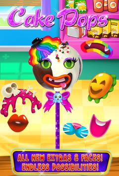 Cake Pop Maker - Cooking Games apk screenshot