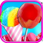 Candy Apples & Snow Cones - Frozen Dessert Food icon