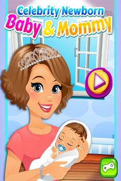 Celebrity Newborn Baby & Mommy Care FREE poster
