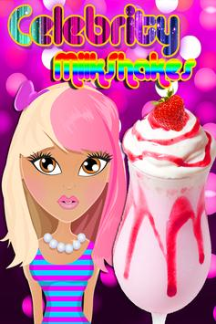 Celebrity Milkshakes FREE poster