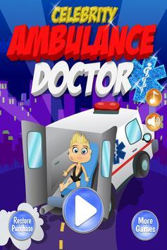 Celebrity Ambulance Kids EMT poster