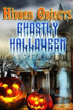 Hidden Object Halloween Ghosts poster
