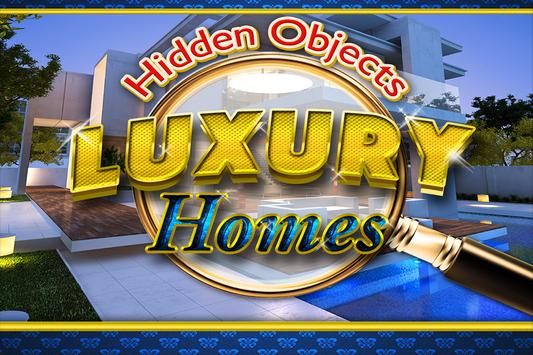 Hidden Objects Luxury Homes poster