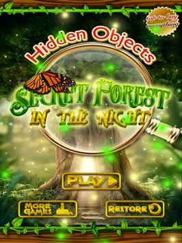 Hidden Objects Night Forest apk screenshot