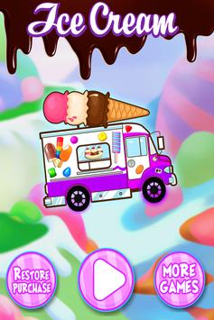 Ice Cream Truck Games FREE poster