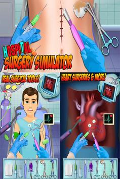 Surgery Simulator Doctor FREE poster