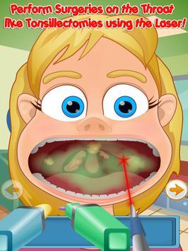 Throat Doctor Kids apk screenshot