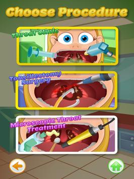 Throat Doctor Kids apk screenshot